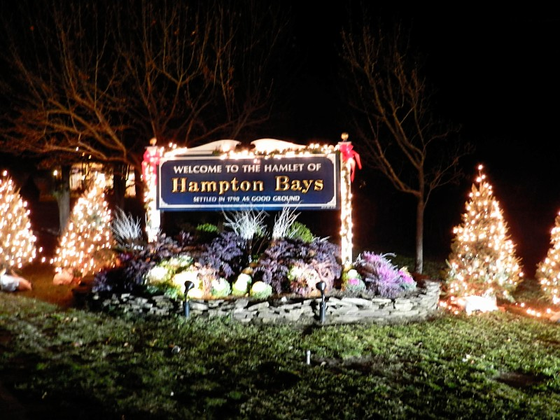 Holidays in Hampton Bays