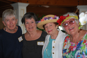 What a wonderful Garden Party and Chinese Auction on June 4th.