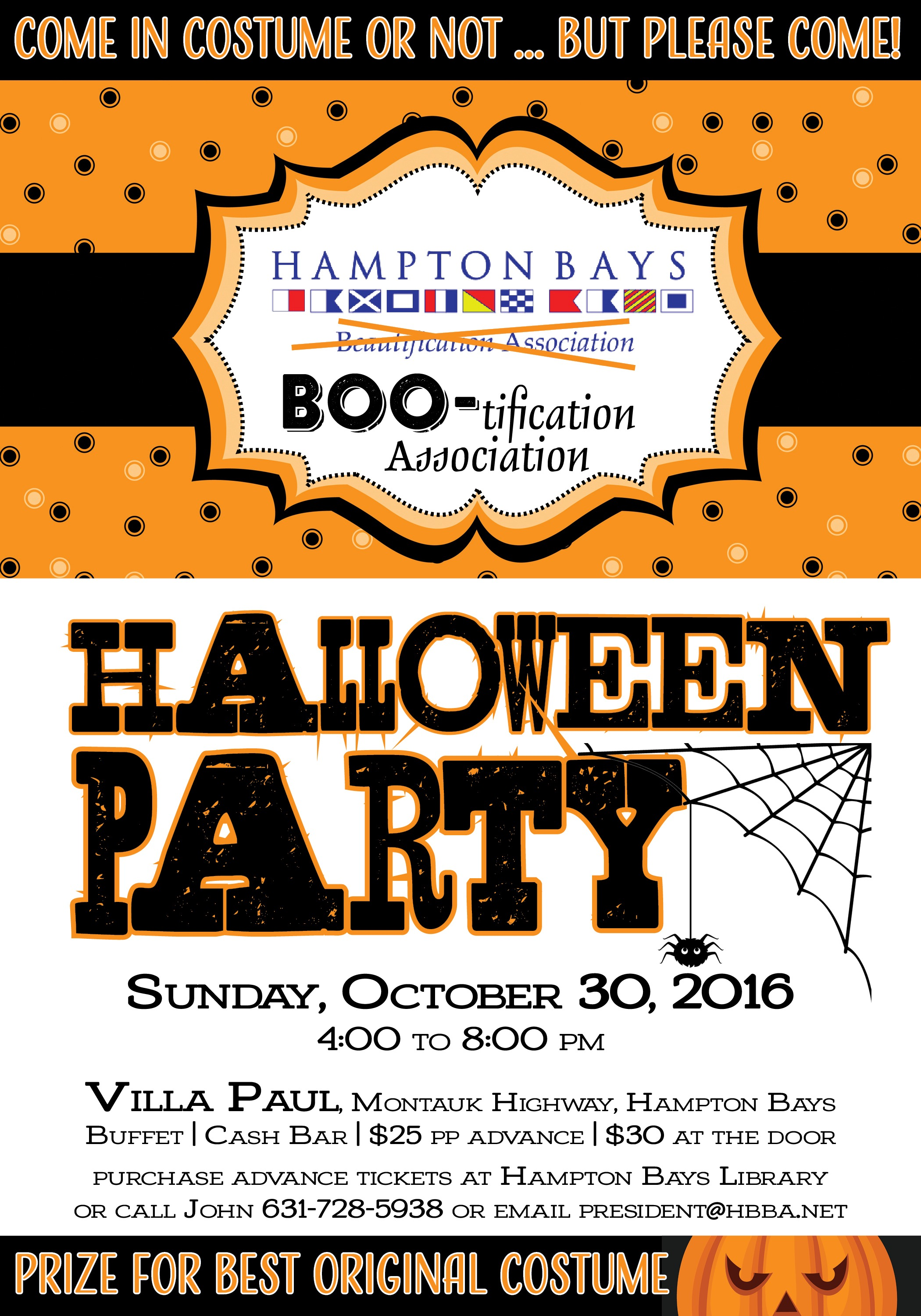 Halloween Party 2016 @ Villa Paul Restaurant | Hampton Bays | New York | United States